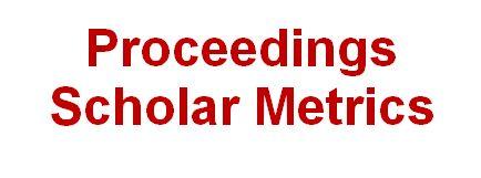 Proceedings Scholar Metrics